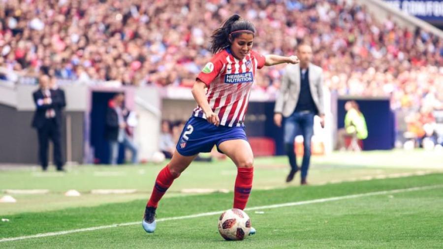 Kenti Robles finaliza su etapa en el Atlético de Madrid