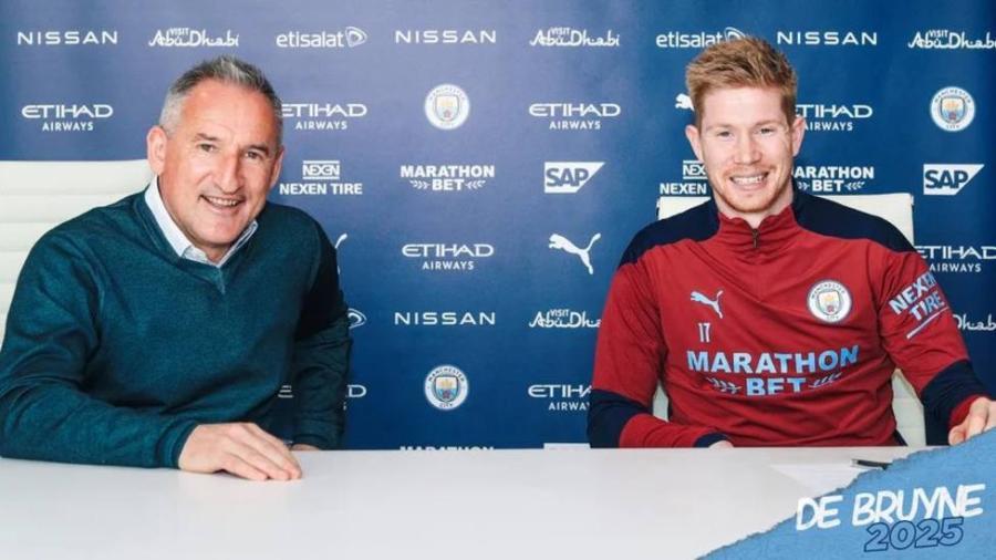 Renueva Kevin De Bruyne con el Manchester City
