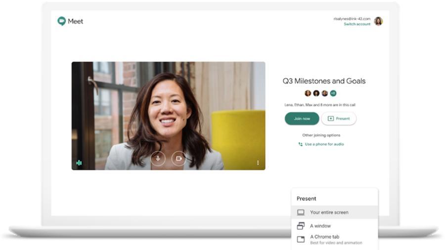 Videollamadas ilimitadas en Google Meet serán gratuitas hasta junio
