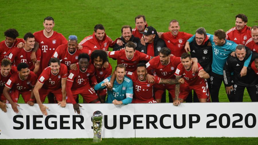 El Bayern se enfila al 'sextete' y es Super Campeón de Alemania