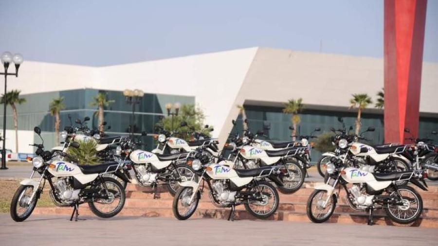 Motocicletas que recibió la CANIRAC serán concesionadas a empresas de reparto