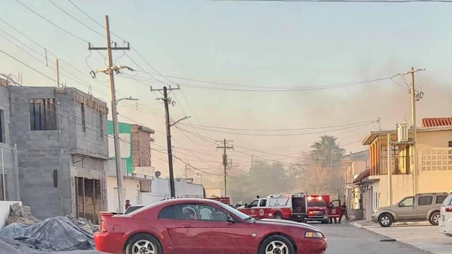 Reporta PCyB saldo blanco tras incendio vehicular.