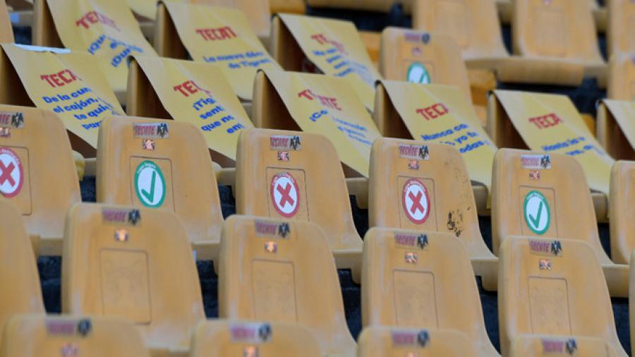 Descartan reapertura de los estadios de Tigres y Rayados