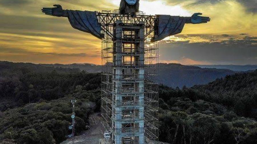 Brasil tendrá un nuevo Cristo gigante, más grande que el de Río