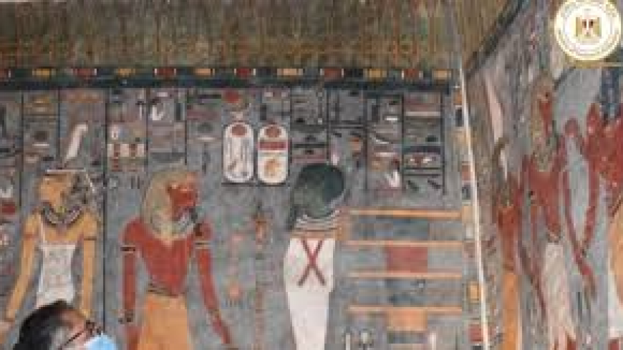 Reabren al púbico la tumba del faraón Ramses I en Egipto