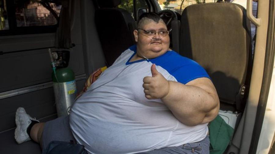 El ex 'hombre más obeso del mundo' vence al Covid-19