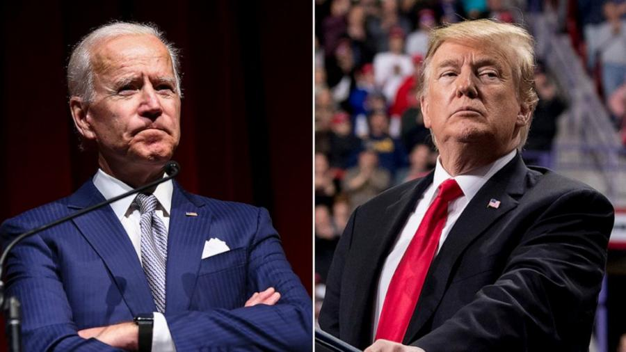 Trump comparte en Twitter video falso de Joe Biden