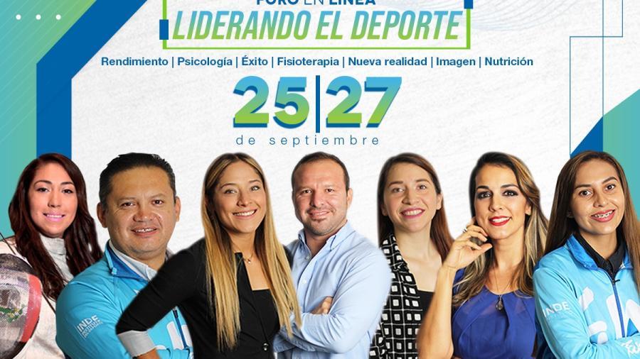Continúan los registros a Foro digital 'Liderando El Deporte'