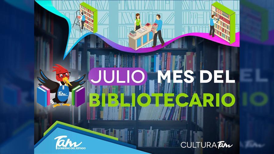 """Cultura Tamaulipas celebró durante todo julio el  """"Mes del Bibliotecario"""""""