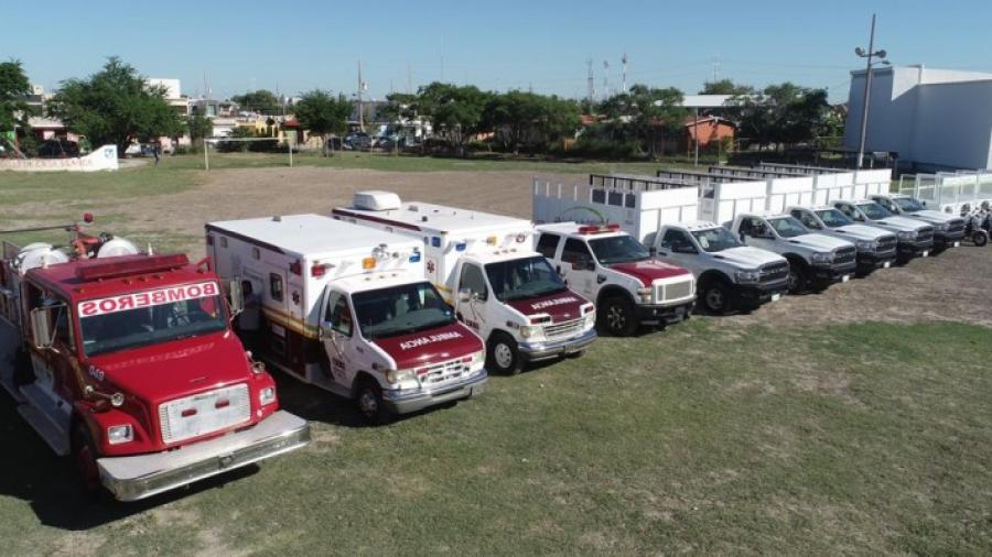 Fortalece Gobierno de Matamoros equipo de Limpieza Pública y Protección Civil