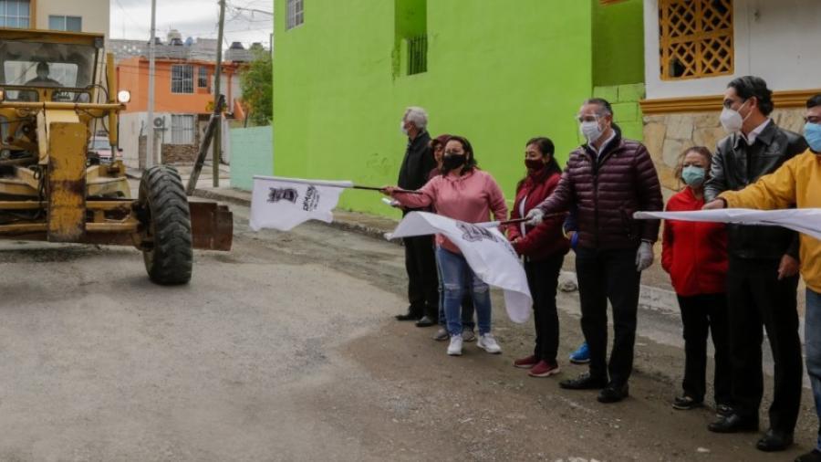 En Ciudad Madero dan banderazo a más obras de reencarpetado
