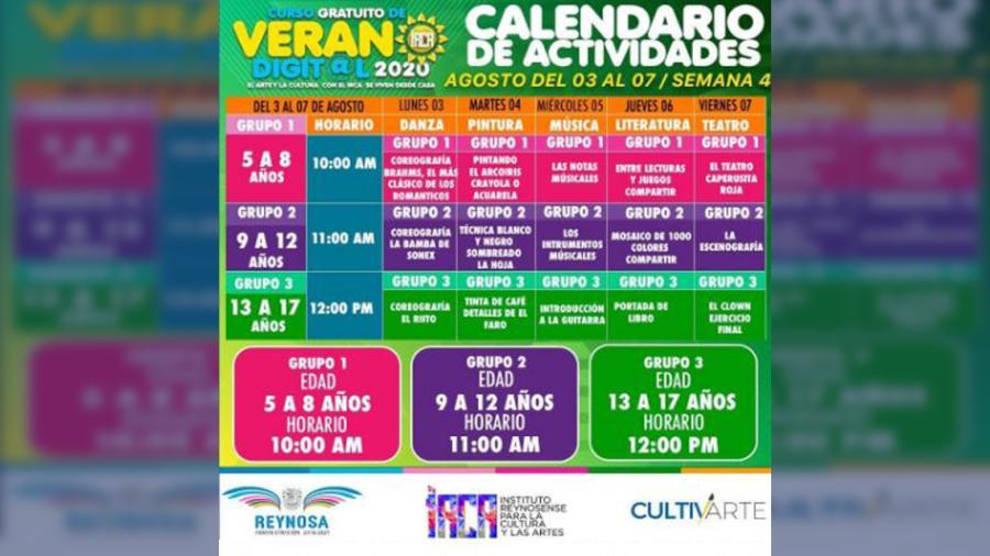 Imparten gratis Curso de Verano Digital en Reynosa