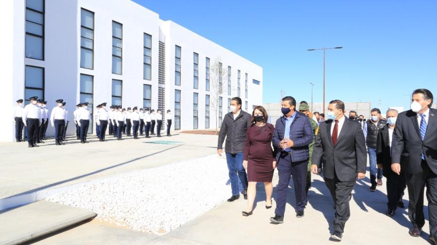 Tamaulipas continúa fortaleciendo infraestructura de seguridad pública