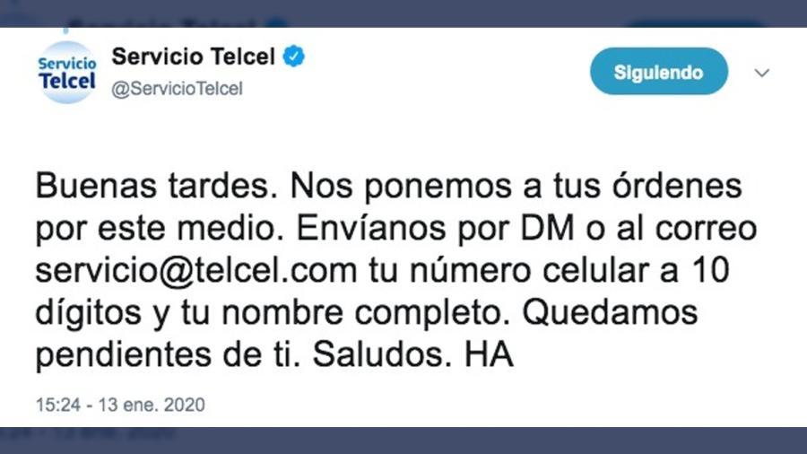 Reportan caída de Telcel
