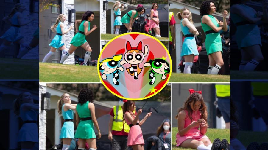¡Justo en la infancia! Filtran imágenes del rodaje de la serie de live-action de 'Las Chicas Superpoderosas!