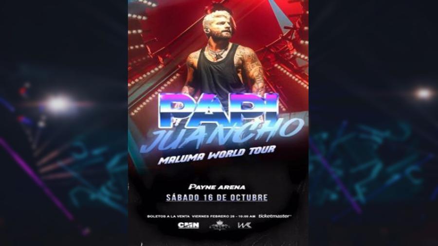 Maluma se presentará en octubre en Hidalgo y Laredo, Tx
