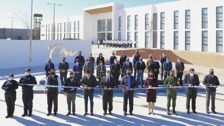 Inaugura Cabeza de Vaca complejo de seguridad en Nuevo Laredo