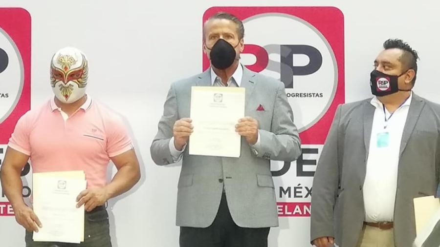 Alfredo Adame se registra como precandidato federal por el partido RSP