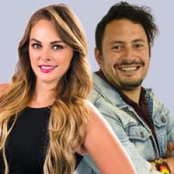 Virginia Ramírez y Juan Pablo Abreu
